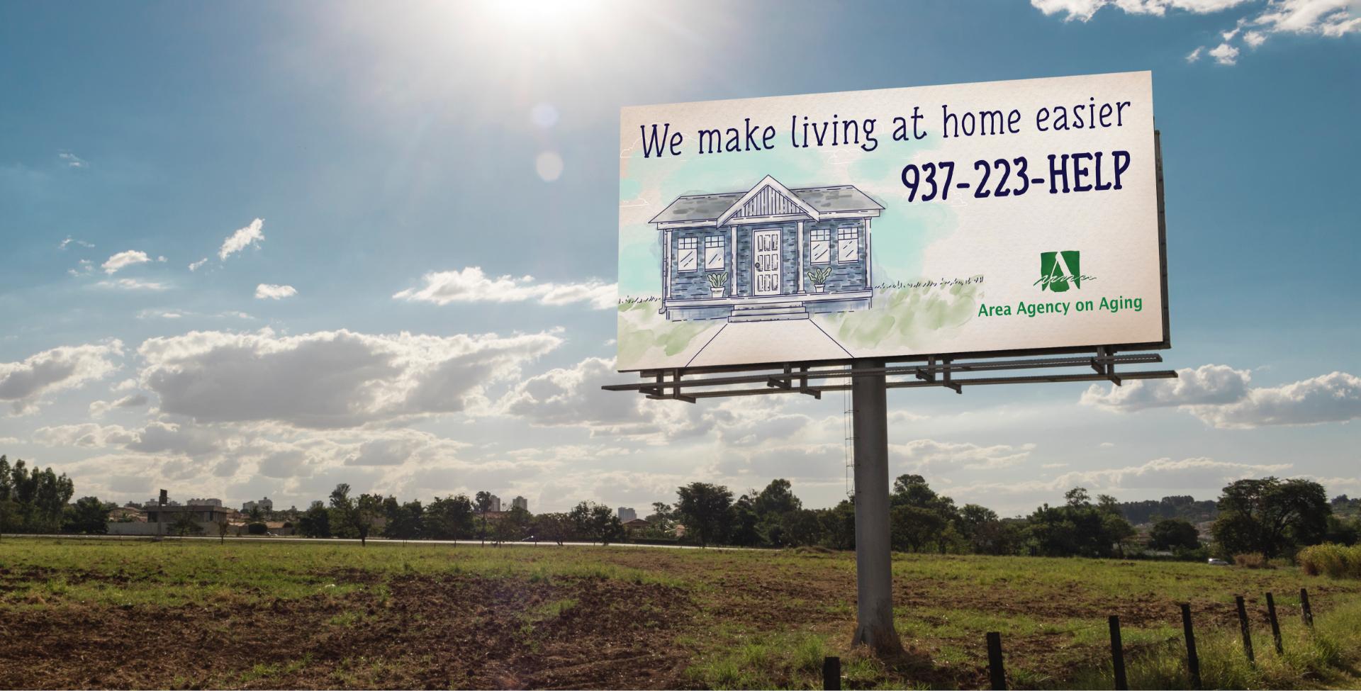 Area Agency on Aging billboard