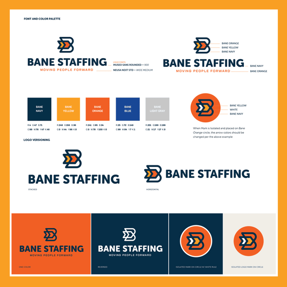 Bane Staffing Brand Guide