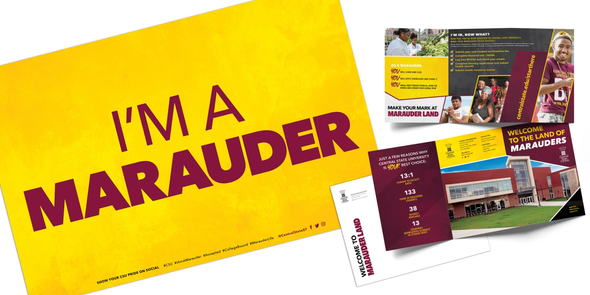 Central State University marketing materials