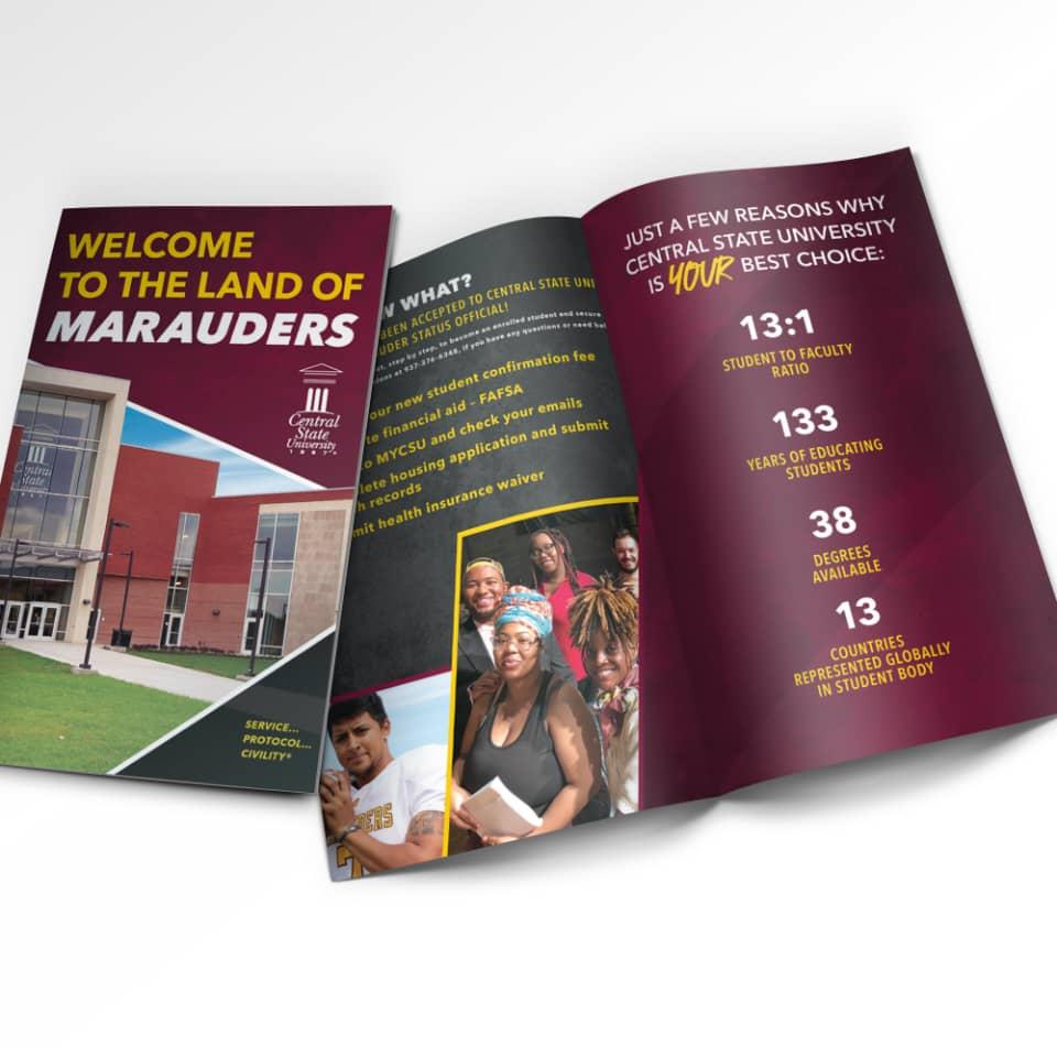 Central State University brochure