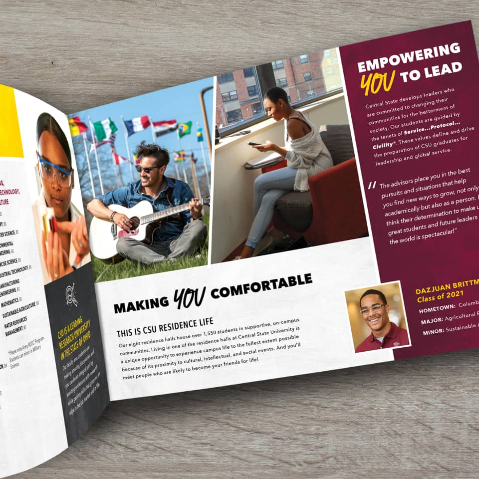 Central State University viewbook