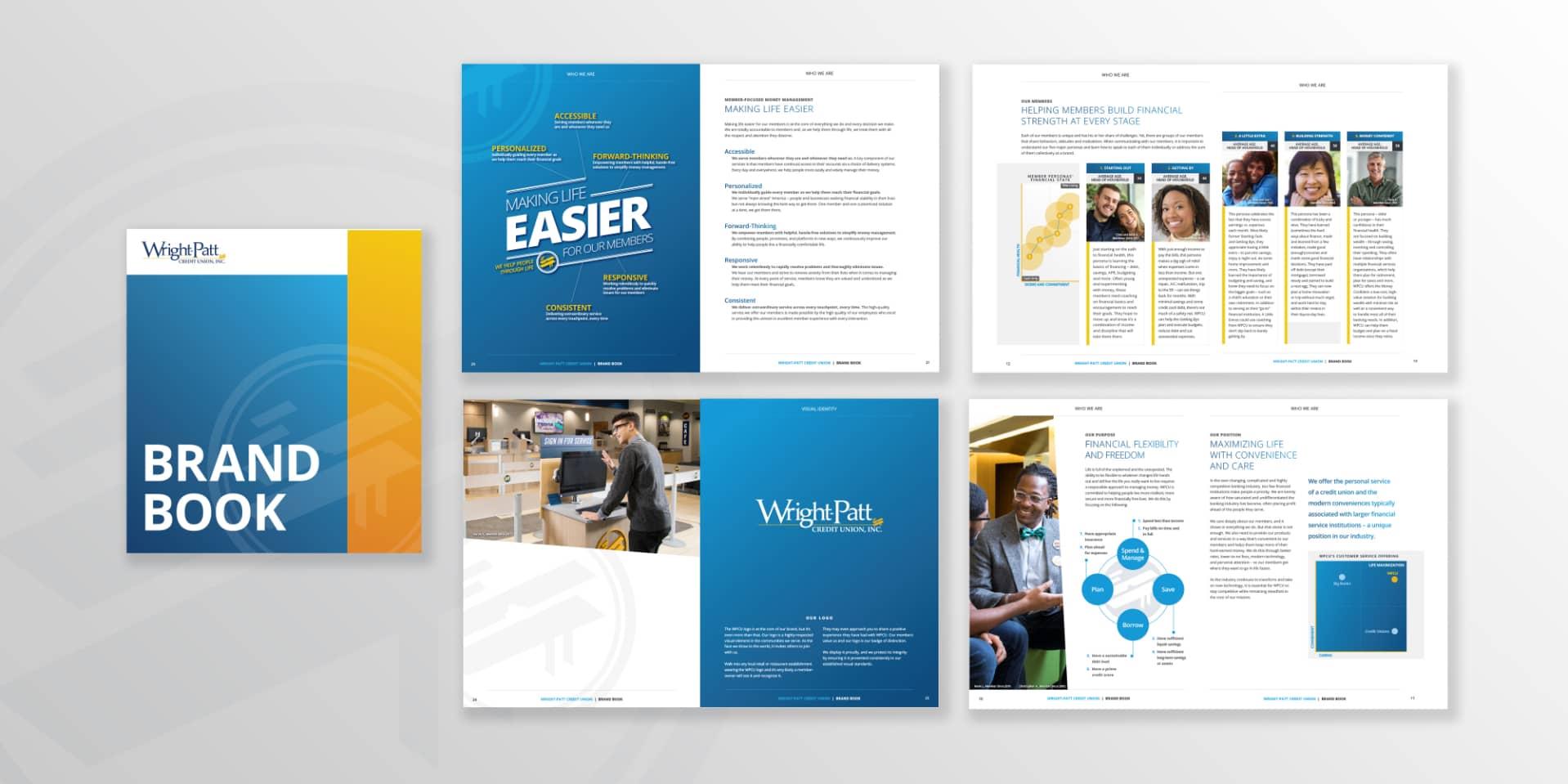 Wright-Patt Credit Union brand book