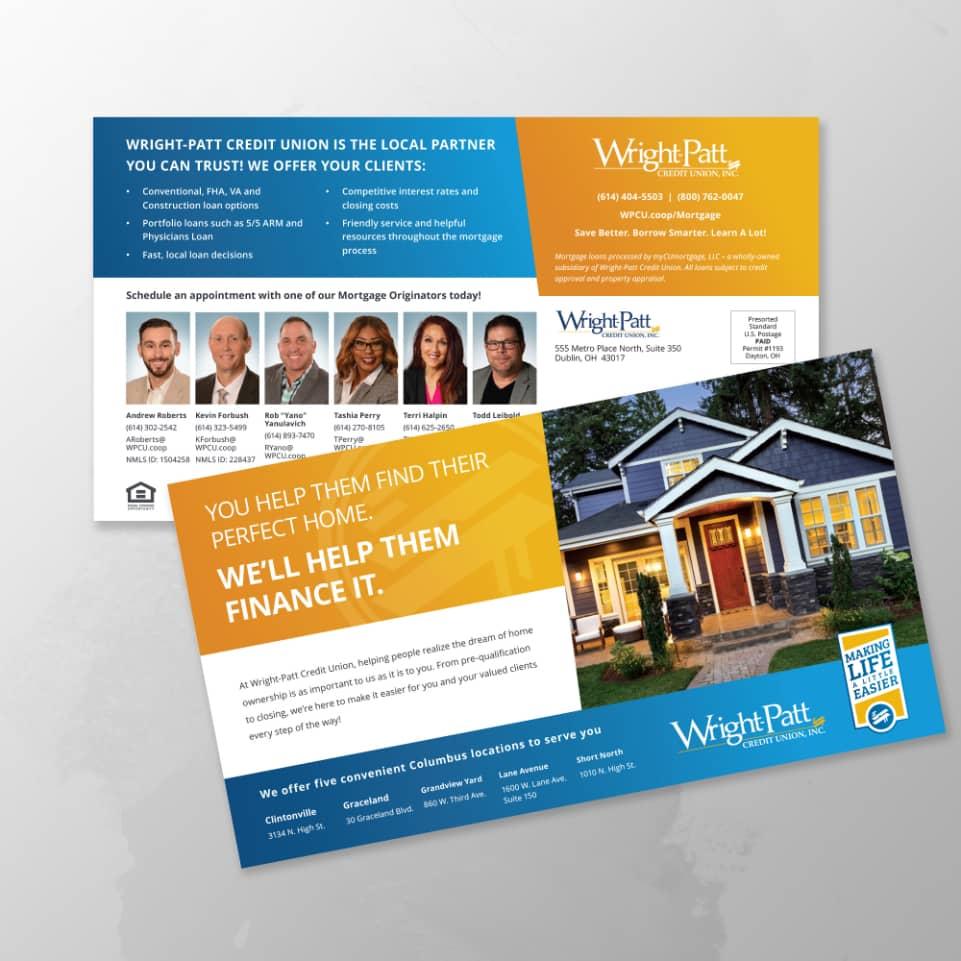 Wright-Patt Credit Union postcards