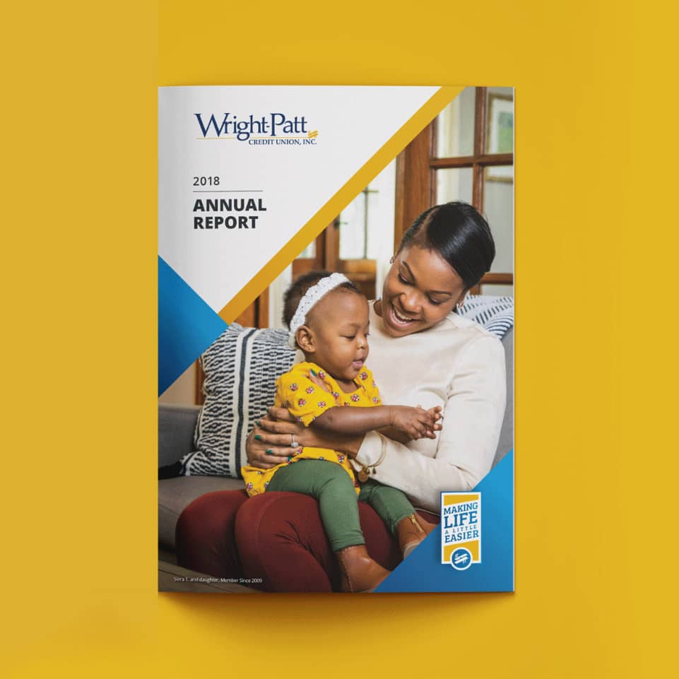 Wright-Patt Credit Union Annual Report cover