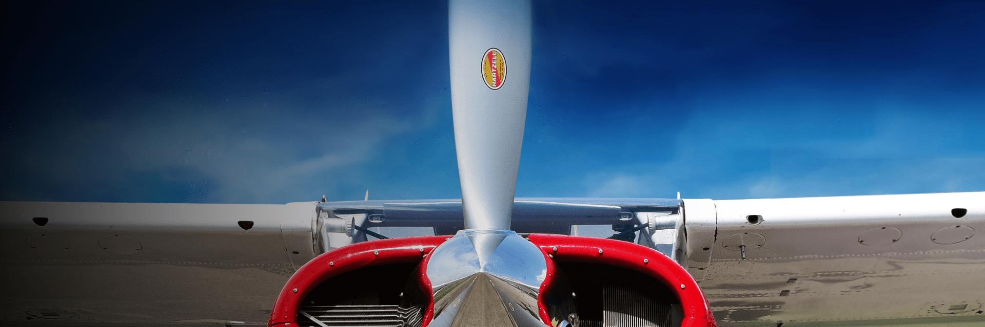 Closeup of Hartzell Propeller