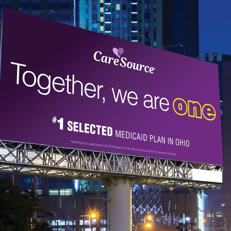 CareSource Medicaid Billboard